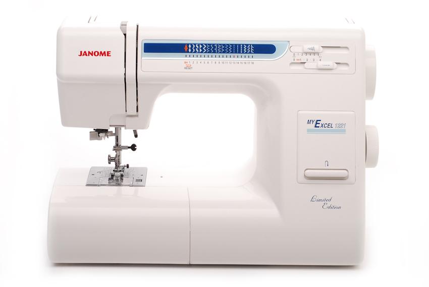 janome my инструкция 1221 excel 18w